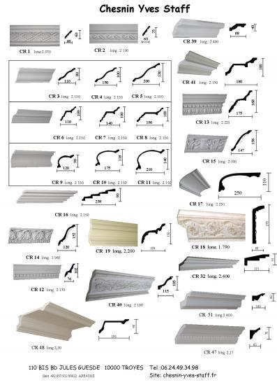 Catalogue corniche 1 a 19